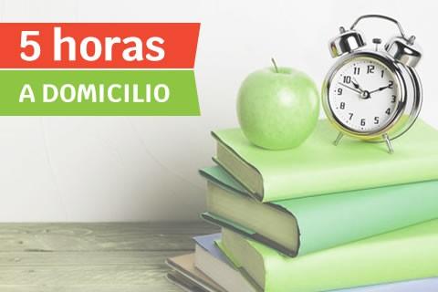 Clase a Domicilio de ESO/Bachillerato (5 horas)