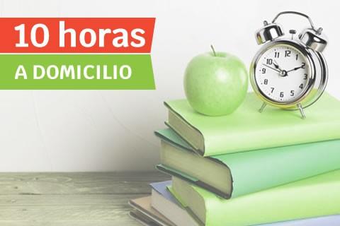 Clase a Domicilio de ESO/Bachillerato (10 horas)